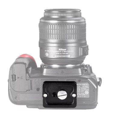 PU-25 Metal Quick Release Plate for Camera Tripod Ball Head Benro Arca Swiss Ku