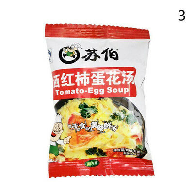 Chinese Instant vegetable Soup Different tastes Fast Food New Delicious 5