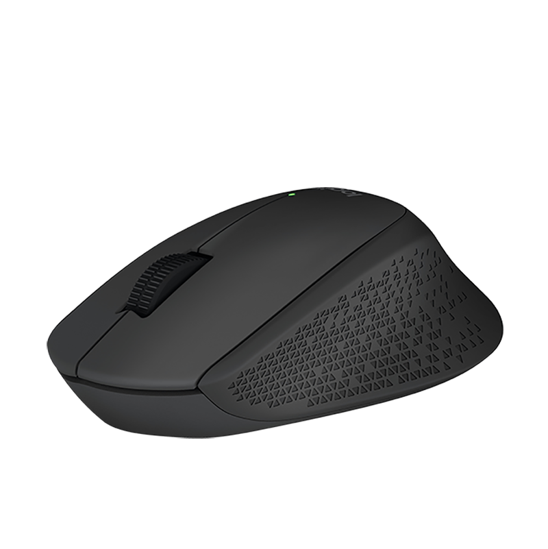 LOGITECH M280 WIRELESS Mouse 2 4G 10m Comfy Right-handed For PC Laptop Mac  Linux