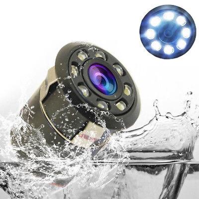 170° CMOS Auto Car Rear View Backup Camera Reverse 8 LED Night Vision Waterproof 2