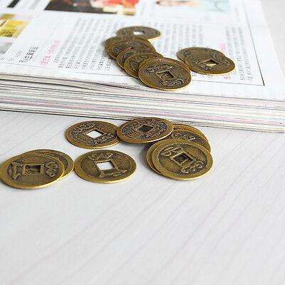 """EW 10pcs Feng Shui Coins 1.00 """"2.3cm moneta fortunata cinese fortuna I Ch ie 2"""