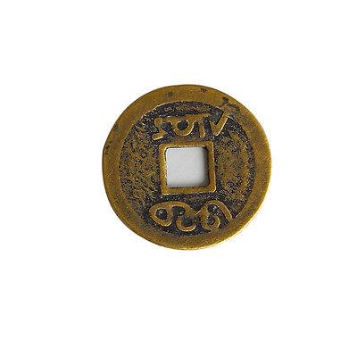 "EW 10pcs Feng Shui Coins 1.00 ""2.3cm moneta fortunata cinese fortuna I Ching"