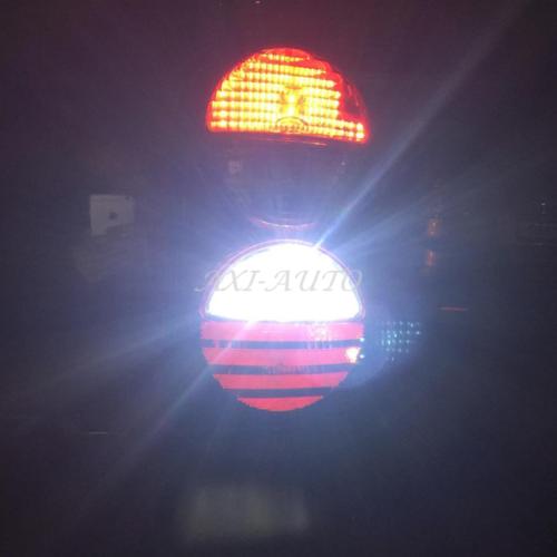 2pc 3157 4114 4157 LED DRL Driving Daytime Running Light Bulbs 48SMD 6000K White 9