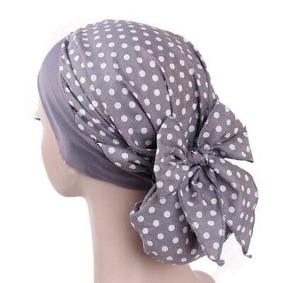 Women Cancer Hat Chemo Pirate Cap Muslim Hair Loss Head Scarf Turban Head Wrap 6