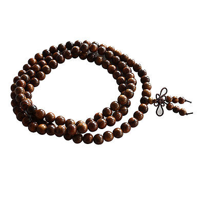 Fragrant Black rosewood108 8MM Buddhist Prayer Bead Mala Necklace/BraceleSN 7