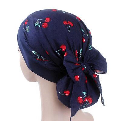Women Cancer Hat Chemo Pirate Cap Muslim Hair Loss Head Scarf Turban Head Wrap 9