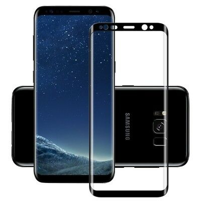 9D Screen Protector For Samsung Galaxy S8 S9 Plus Note 8 Note 9 Tempered Glass 6