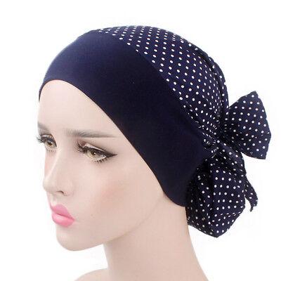 Women Cancer Hat Chemo Pirate Cap Muslim Hair Loss Head Scarf Turban Head Wrap 4