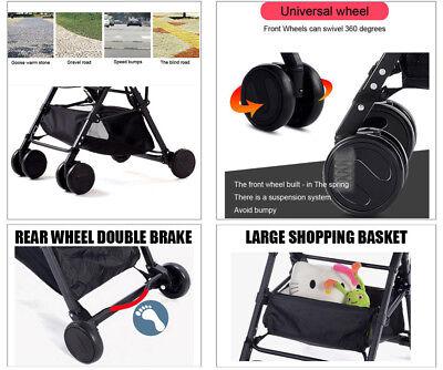 Lightweight Compact Fold Baby Stroller Pram Pushchair Travel 8
