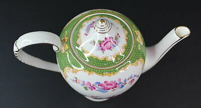 Vintage A.B.J Grafton Canton China Teapot Made in England Antique Beautiful 6