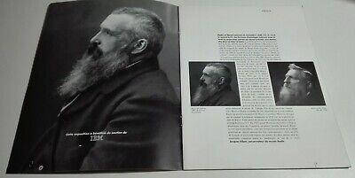 Monet - Rodin. Centenario de la exposición de 1889. Programa original de 1989 2