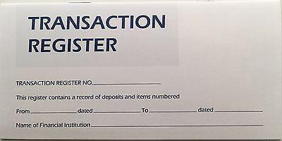 20 Checkbook Transaction Register Calendar 2018 2019 2020 Check Book