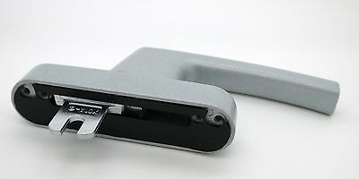 Roto Aluminium Tilt Turn Upvc Window Handle Silver Fork Drive