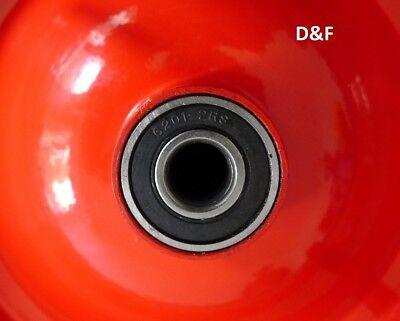 Schubkarrenrad Ersatzrad luftbereift 4.80/4.00-8 inkl. Achse, Schubkarrenreifen 4