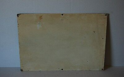 Industrial Antique DANGER NO SMOKING MATCHES OR OPEN LIGHTS Cautionary Sign 3