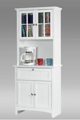 KITCHEN HUTCH BUFFET Bar Table Small China Cabinet Storage ...