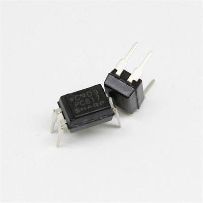 10pcs PC817 PC817C EL817 817 Optocoupler SHARP DIP-4 New High Quality SP