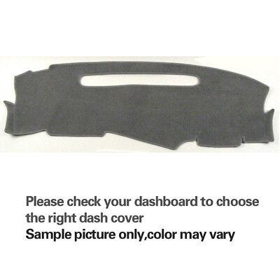 Black Dash Cover Pad Dashboard Mat Fits 95-97 Chevy S10 Blazer//94-97 S10 Pickup