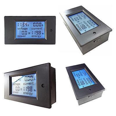 Contador Electrico Digital Medidor de Consumo Voltaje Amperimetro 100A 80-260V 4