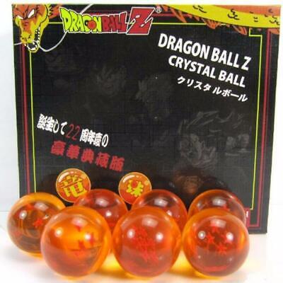 New 7Pcs Stars Dragon Ball Z Crystal Balls Set Collection In Box Set Gifts 4
