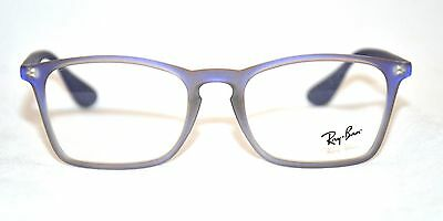 67f7ee91049 RAY-BAN RB 7045 5486 EYEWEAR FRAME Violet Iridescent 53-18-140 NEW ...