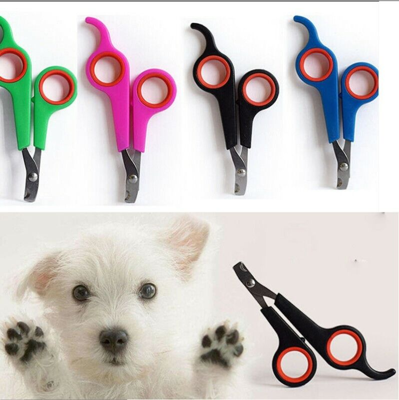 Puppy Nail Clippers Claw Cutters PET DOG CAT RABBIT Animal Scissors Trimmers 3