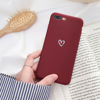 Case for iPhone 8 7 6S Plus XR XS MAX ShockProof Soft Phone Cover TPU Silicone 3