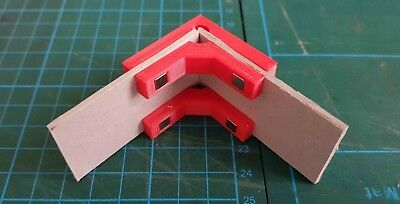 Model Makers 90° degree Right Angle Magnetic Clamps (2 Pairs) - in 4 Sizes 6