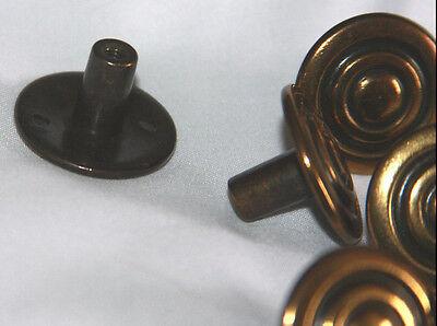 Vintage Bronze Colored Metal Drawer Handles Pulls (12)  & Cabinet Knobs (8) 6