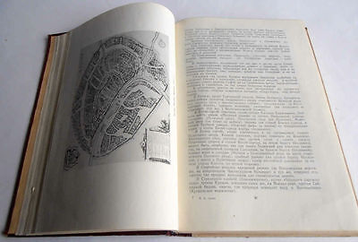 1950/54 P.SYTIN Russia MOSCOW History of Planning & Building Books 2 Volumes 10