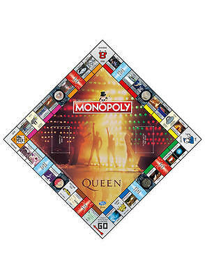 Queen Edition Monopoly Board Game Brand New Christmas Gift Freddie Mercury Xmas 3