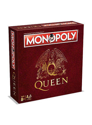 Queen Edition Monopoly Board Game Brand New Christmas Gift Freddie Mercury Xmas 2