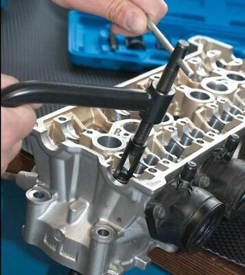 Compresor De Muelles De Valvulas Para Motos Y Coches + Linterna 6 Leds -1377L 4