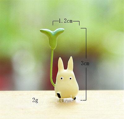 3pcs/Set Anime My Neighbor Totoro Resin Mini Figures Cosplay Model Doll 5