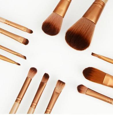 12pcs Kabuki Professional Make up Brush Brushes Set Makeup Foundation Blusher 3