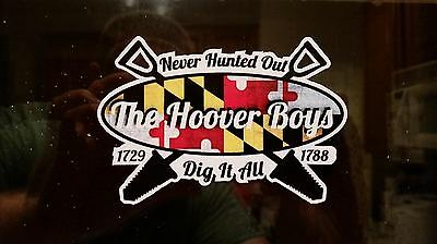 The Hoover Boys Sticker 2