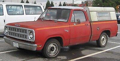 72 93 4Pc Dodge Extended Rocker /& Regular Cab Corner Kit 2 Door Ram Truck