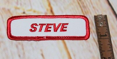 "4,33/""x2,01/"" Steve Vai badge logo patch 11cm x 5,2cm"
