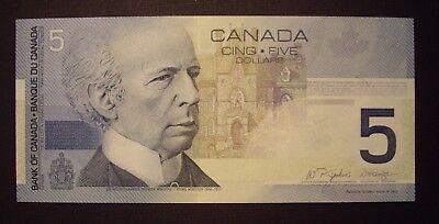 Canada 2004 BC-62bA $5 Replacement HNZ7546506 -  GemUnc 2