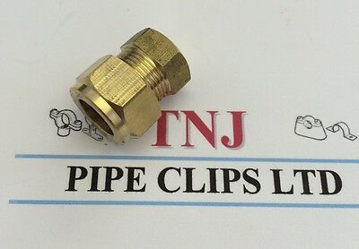 6, 8, 10, 12, 15, 22&28mm Brass Compression Fittings-Straight Elbow Tee Coupling