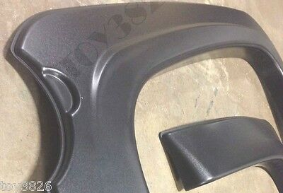 FACTORY STYLE /& FINISH FENDER FLARES FOR 07-13 CHEVY SILVERADO 1500 CREW CAB 4D