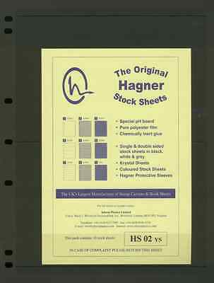 Hagner Single Sided Stamp Album Stock Pages 2
