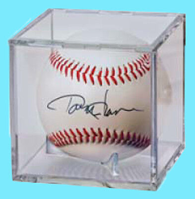 Acrylic Lucite Baseball 36 Ball Display Case Autographs-original