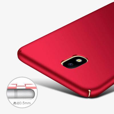 For Samsung Galaxy J7 J5 J3 Pro Luxury Ultra-thin Hard PC Slim Back Case Cover 7