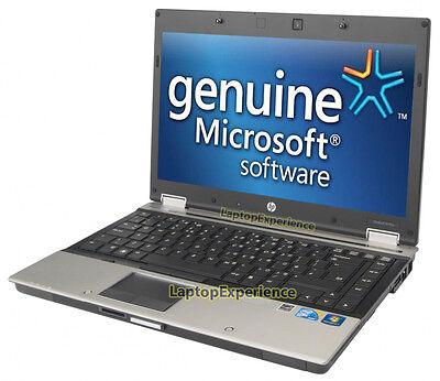 HP LAPTOP WINDOWS 10 PC CORE i5 2.4GHz 4GB RAM WiFi DVDRW NOTEBOOK 250GB HD WIN 4