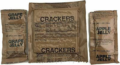 Sopakco Case of 12 MRE Meals Ready To Eat Emergency Food Rations - In Stock AL 6