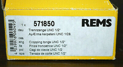 """Rems 571850 1/2"""" Unc Cutting Tongs 2"""