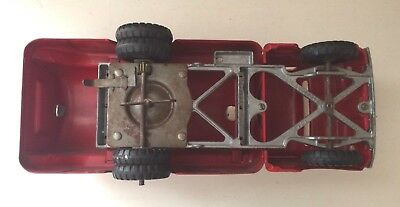 Vintage Pressed Steel Toys -Structo 66- Truck Toyland Oil/ Gas 1950'S Red 6