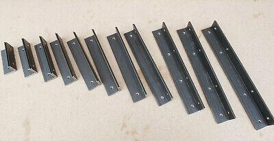 Alcove Shelf Brackets (pair) Shelves Corner Angle Steel Scaffold Timber Board 2
