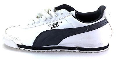 Mens PUMA Roma Basic Retro Solid All Black Classic 35357217